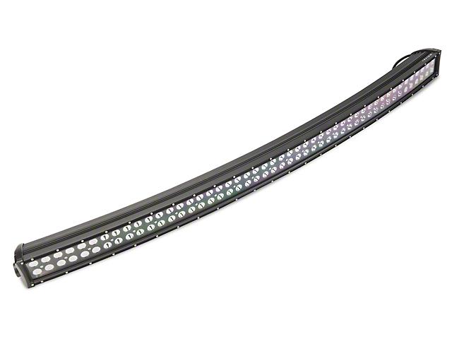 Raxiom 50-Inch Dual Row LED Light Bar with Roof Mounting Brackets (14-15 Silverado 1500)