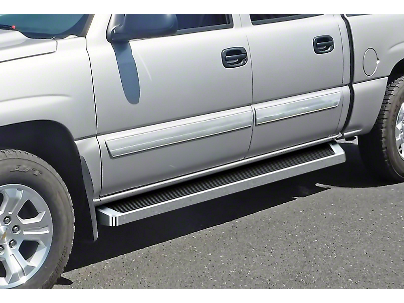6 in. Running Boards - Polished (04-06 Silverado 1500 Crew Cab)
