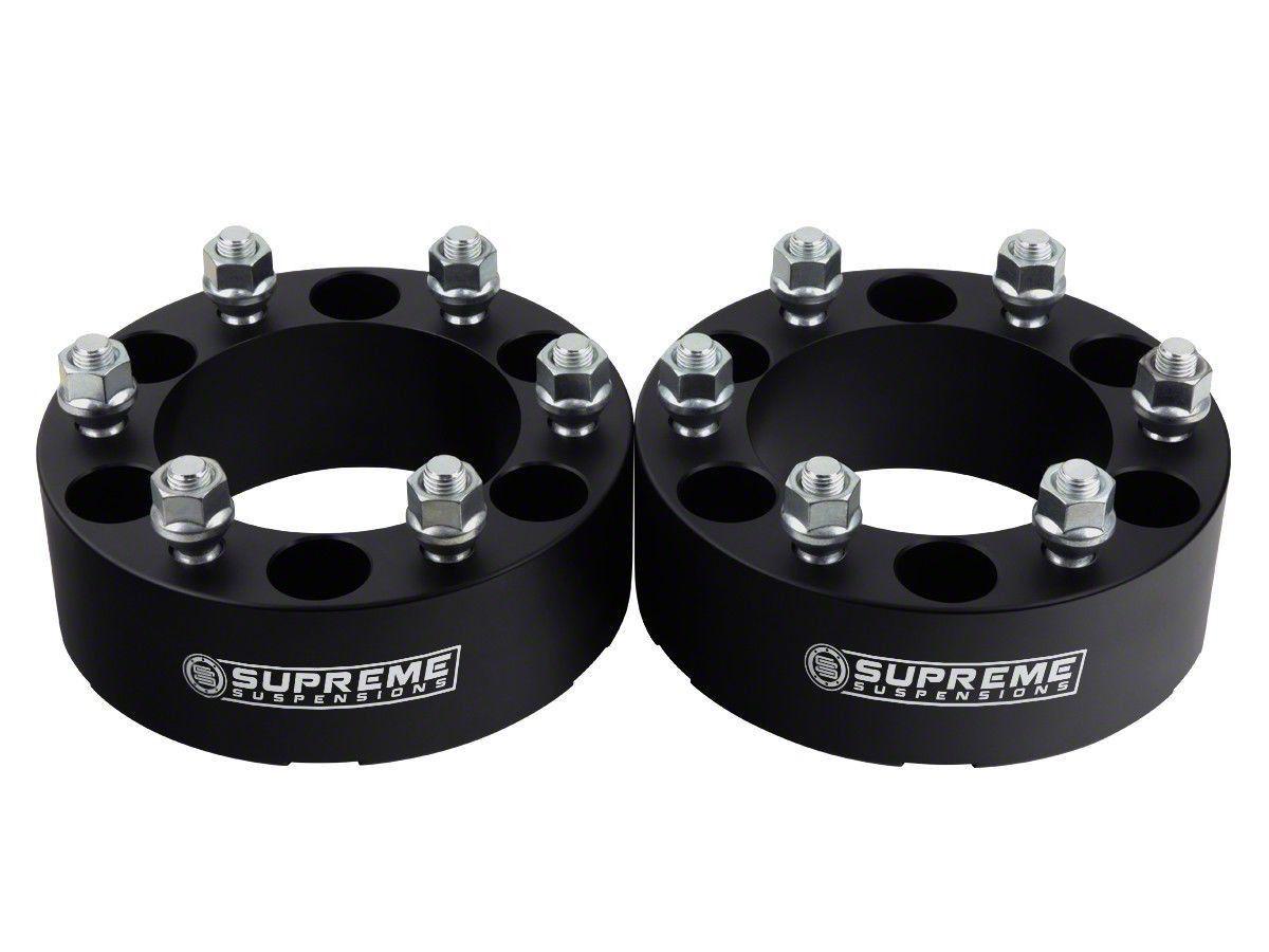 Supreme Suspensions 2 in. Pro Billet Wheel Spacers - Set of Two (99-19 Silverado 1500)