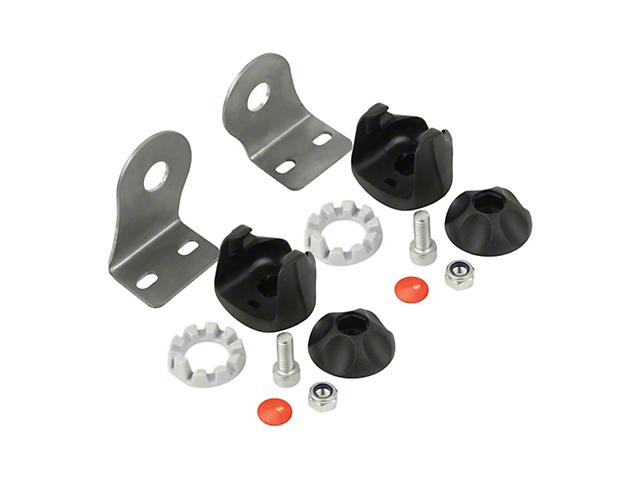 J.W. Speaker Single End Bracket Kit for Model TS1000 LED Light Bars