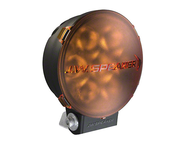 6 Inch Model TS3001R Round LED Light Lens Cover; Amber