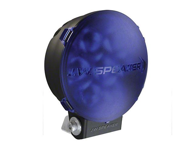 J.W. Speaker 6 Inch Model TS3001R Round LED Light Lens Cover; Blue