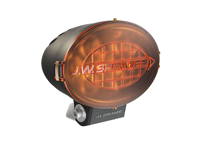 J.W. Speaker 7.5 Inch Model TS3001V Oval LED Light Lens Cover; Amber
