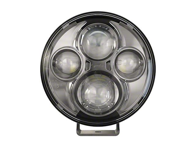 J.W. Speaker 7 Inch Model TS4000 Round LED Lights; Chrome