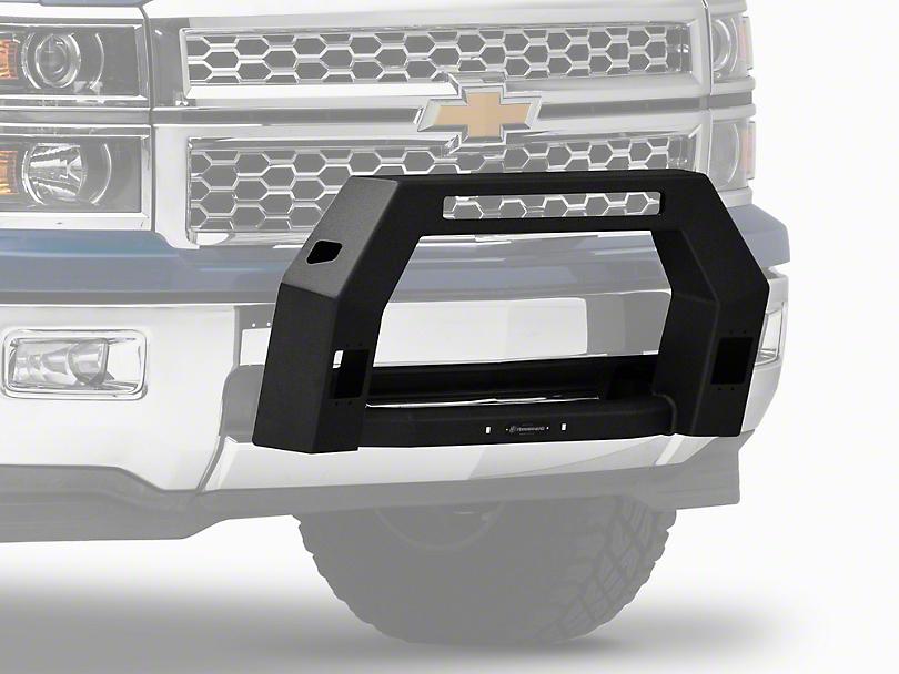 Bull Bar w/ LED Light Openings - Black (14-18 Silverado 1500)