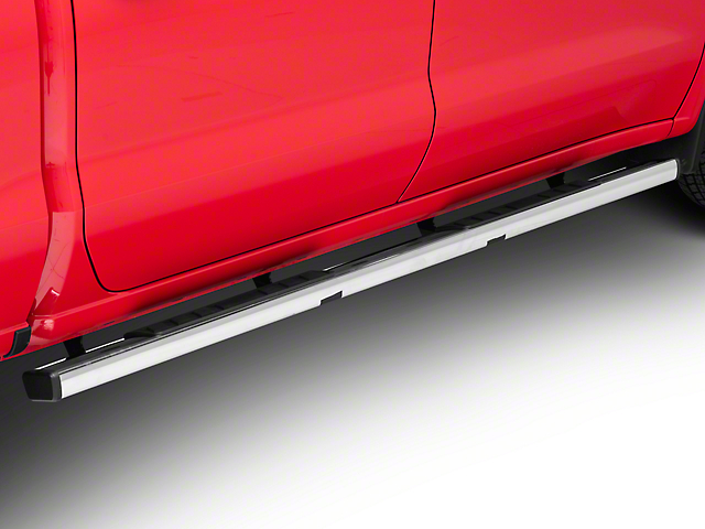 Barricade T4 Side Step Bars; Stainless Steel (19-20 Silverado 1500 Crew Cab)