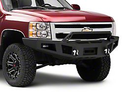 Barricade HD Winch Front Bumper with LED Lighting (07-13 Silverado 1500)