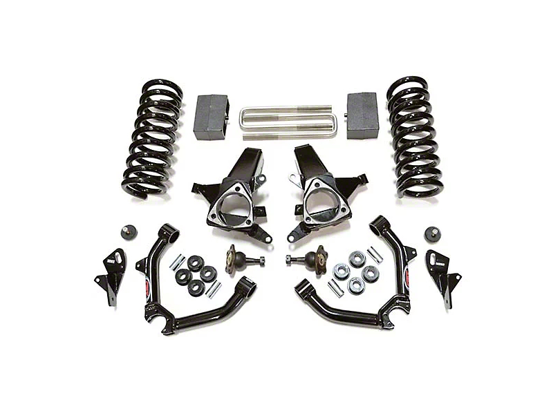 CST Suspension 8 in. Suspension Lift Kit - Stage 1 (14-18 2WD Silverado 1500 w/ Cast Aluminum or Stamped Steel Control Arms)