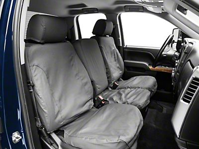 Peachy 2014 2018 Silverado 1500 Seat Covers Americantrucks Short Links Chair Design For Home Short Linksinfo