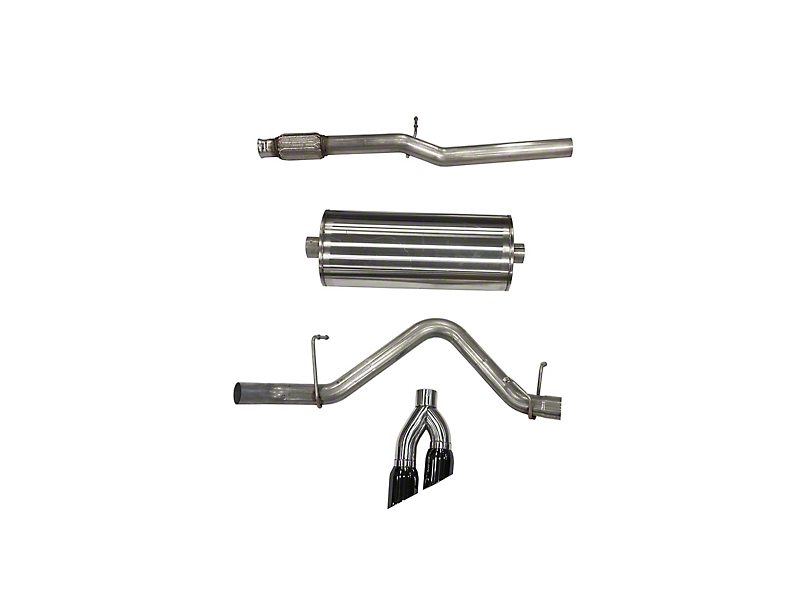 Corsa Sport Single Exhaust System w/ Black Tips - Side Exit (19-20 5.3L Silverado 1500)
