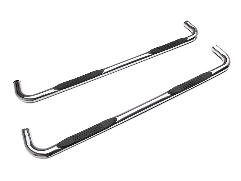 Duratrek 3 in. Body Mount Side Step Bars - Stainless Steel (19-20 Silverado 1500 Double Cab)