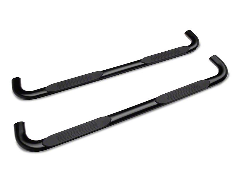 Duratrek 3 in. Body Mount Side Step Bars - Black (19-20 Silverado 1500 Double Cab)