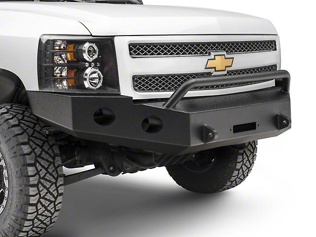 DV8 Offroad Recovery Front Bumper with Bull Bar (07-13 Silverado 1500)
