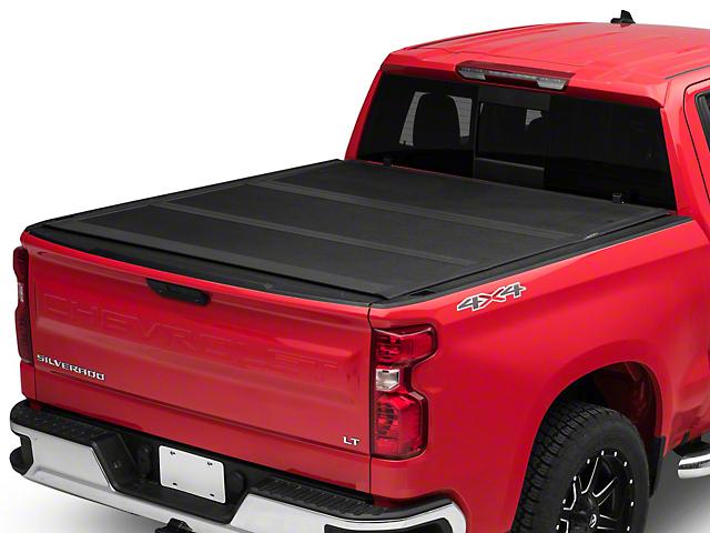 Proven Ground Low Profile Hard Tri-Fold Tonneau Cover (19-21 Silverado 1500 w/ Short/5.8 ft. & Standard/6.6 ft. Box)
