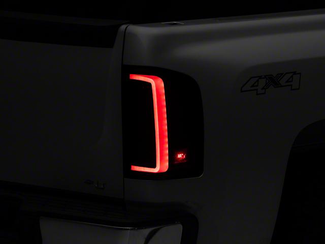Raxiom G2 LED Tail Lights; Red Smoked (07-13 Silverado 1500)