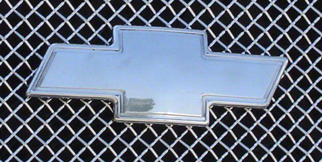 T-Rex Polished Chevrolet Front Billet Bowtie for Chevrolet Silverado 07-13