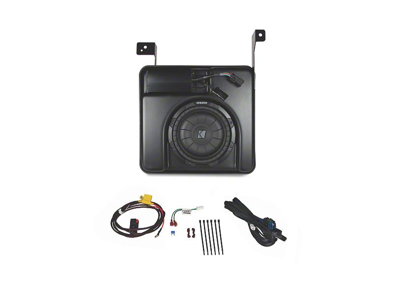 Kicker SubStage Powered Subwoofer Upgrade Kit (07-13 Sierra 1500 Crew Cab)