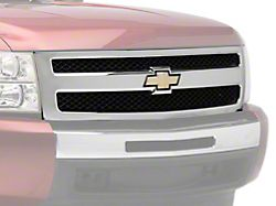 OE Style Upper Replacement Grille; Chrome (07-11 Silverado 1500)