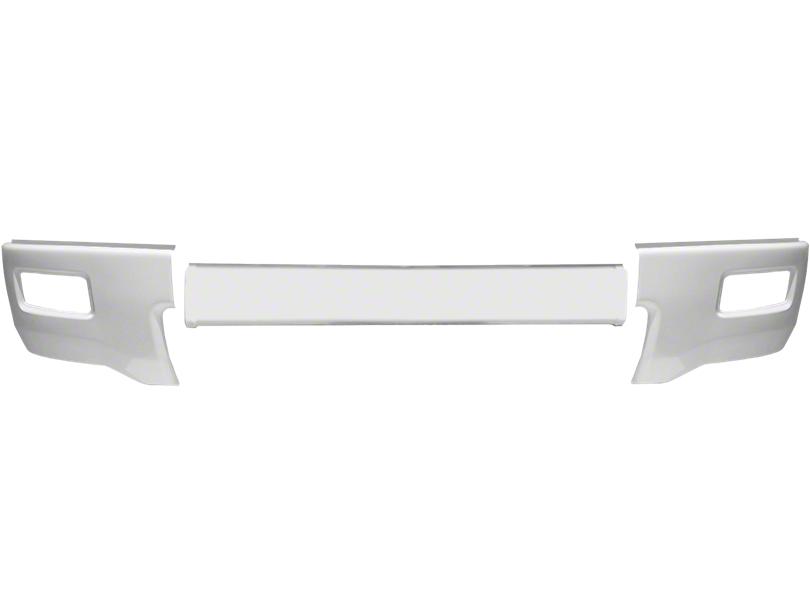 BumperShellz Front Bumper Cover w/ Fog Light Openings - Gloss White (14-15 Silverado 1500)