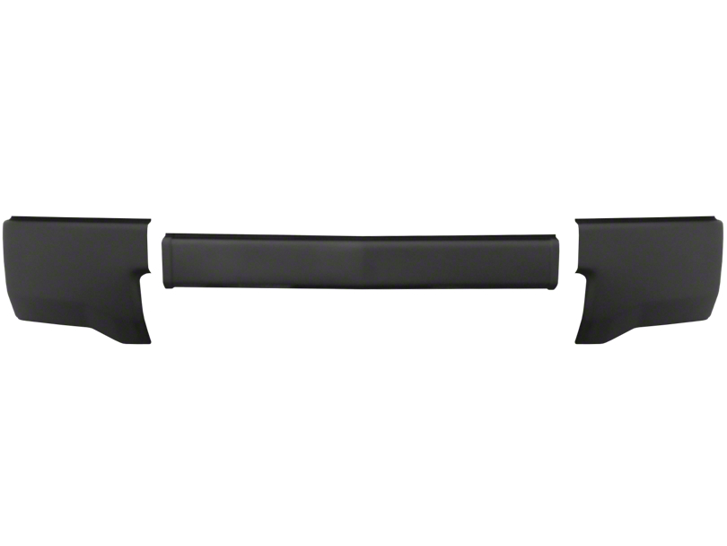 BumperShellz Front Bumper Cover w/o Fog Light Openings - Matte Black (14-15 Silverado 1500)