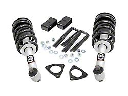 Rough Country 2.50-Inch Leveling Lift Kit with Lifted N3 Struts (07-18 Sierra 1500 w/ Stock Cast Steel or Cast Aluminum Control Arms, Excluding 14-18 Denali)