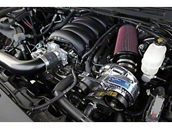 Procharger High Output Intercooled Supercharger Kit with P-1SC-1; Satin Finish (14-18 5.3L Sierra 1500)