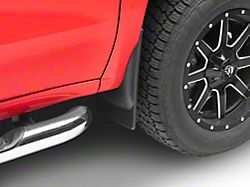 Weathertech No-Drill Mud Flaps; Front and Rear; Black (19-22 Silverado 1500)
