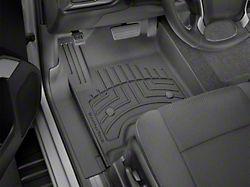 Weathertech Front Floor Liner HP; Black (14-18 Sierra 1500 w/o Floor Shifter)