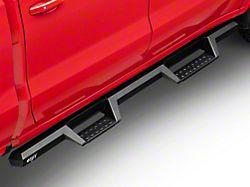 HDX Drop Nerf Side Step Bars; Textured Black (19-21 Silverado 1500 Crew Cab)