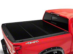Rough Country Low Profile Hard Tri-Fold Tonneau Cover (19-21 Sierra 1500 w/ 5.80-Foot Short Box & w/o MultiPro Tailgate)