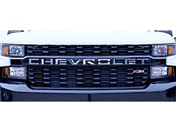 Stainless Steel Grille Letters (19-21 Silverado 1500)