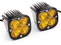 Baja Designs Squadron Sport Amber LED Fog Light Pocket Kit (19-21 Silverado 1500)