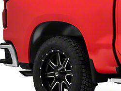 Husky Rear Wheel Well Guards; Black (19-22 Silverado 1500)