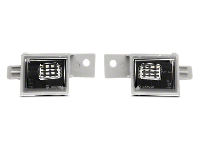 Axial LED License Plate Lamps (14-18 Silverado 1500)