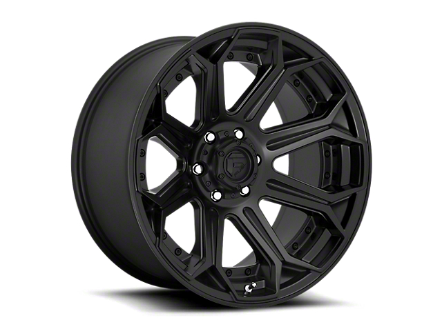 Fuel Wheels Siege Matte Black 6-Lug Wheel; 20x9; 20mm Offset (99-06 Sierra 1500)
