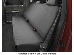 Weathertech Second Row Seat Protector; Charcoal (07-21 Tundra CrewMax)
