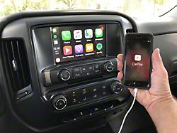 Infotainment MyLink Apple CarPlay and Android Auto Upgrade (14-15 Silverado 1500 w/ 8-Inch Screen)