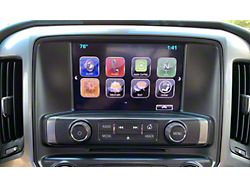Infotainment MyLink Apple CarPlay, Android Auto and GPS Navigation Upgrade (16-18 Silverado 1500 w/ 8-Inch Screen)