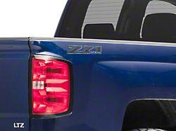 Z71 Off Road Decal; Blackout (14-17 Silverado 1500)