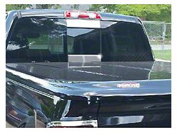 Sliding Rear Window Trim Accents; With Sliding Rear Window (14-18 Silverado 1500)