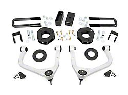 Rough Country 3.50-Inch Suspension Lift Kit with Upper Control Arms (19-22 Silverado 1500 Crew Cab w/ 5.80-Foot Short Box & Adaptive Ride Control, Excluding Trail Boss)