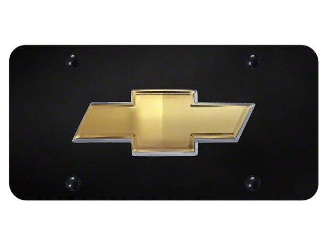 License Plate; Chevrolet OEM Bowtie