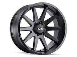 ION Wheels TYPE 143 Matte Black 6-Lug Wheel; 17x9; -12mm Offset (07-13 Silverado 1500)