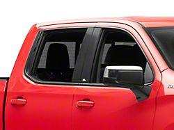 Black Platinum Pillar Posts (19-22 Silverado 1500 Double Cab, Crew Cab)