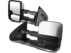 Powered Heated Towing Mirrors with Smoked Amber LED Turn Signal (14-17 Sierra 1500)