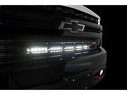 20-Inch Luminix LED Light Bar Grille Mount Light Brackets (19-22 Silverado 1500)