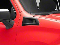 Air Design Fender Vents; Satin Black (19-22 Silverado 1500)