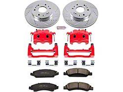 Power Stop Z23 Evolution Sport 6-Lug Brake Rotor, Pad and Caliper Kit; Front (07-18 Sierra 1500)