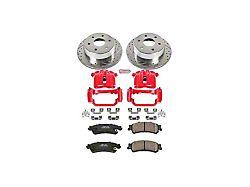 Power Stop Z23 Evolution Sport 6-Lug Brake Rotor, Pad and Caliper Kit; Rear (03-06 Sierra 1500 w/ Single Piston Rear Caliper)