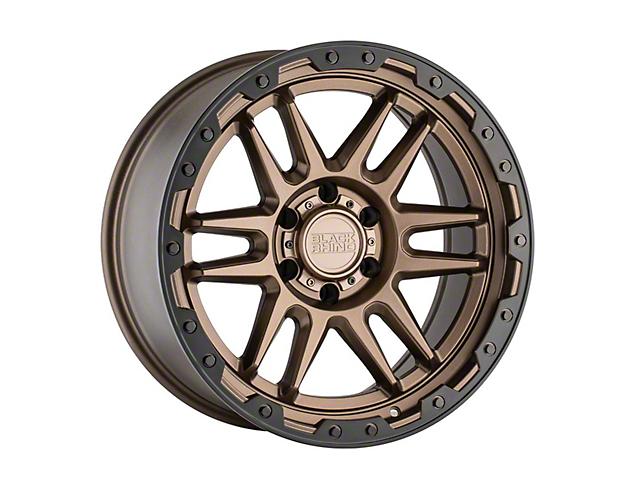 Black Rhino Apache Matte Bronze with Black Bolts 6-Lug Wheel; 17x8.5; 0mm Offset (16-21 Tacoma)